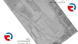 تفسیر عکس هوایی و گزارش توسط کارشناس دارای صلاحیت